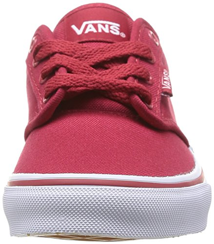 Yt Sneakers Boys' Top Low White Atwood 0znr5gh Vans Red S5Aw7Hq5x