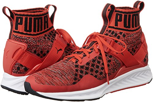 Evoknit Puma Chaussures Compétition De Black Mixte Running Shade Adulte Red Rouge Risk puma high 02 quiet Ignite r5ESqxnr
