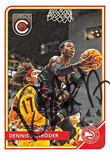 Dennis Schroder autographed Basketball Card (Atlanta Hawks) 2015 Panini  Complete  272 - Unsigned 229ad3fa5