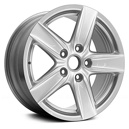Replacement 5 Spokes All Painted Silver Factory Alloy Wheel Fits Porsche Cayenne