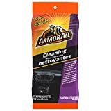 Armor All 18255 Original Cleaning Wipes, Pouch, 20 Wipes