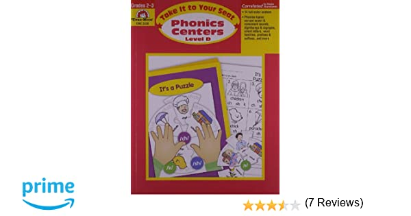 Counting Number worksheets free syllable worksheets : Amazon.com: Take It to Your Seat Phonics Centers, Grades 2-3 ...