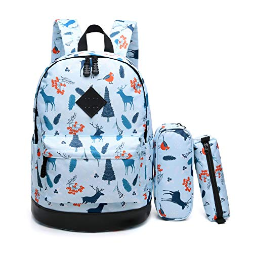 CrossLandy School Backpack for Women Men College Laptop Bookbag Travel Daypack