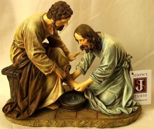 Jesus Washes the Disciple's Feet By Josphs Studio 45615 by Joseph's Studio]()