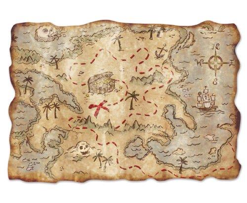 Beistle Jumbo Treasure Cutout 2 Inch