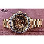 T-Winner Number Sport Design Bezel Watch Mens Watches Top Brand Luxury Montre Homme Clock Men Automatic Skeleton Watch