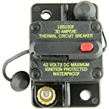 Bussmann CB185-30 Surface-Mount Circuit Breakers, 30 Amps