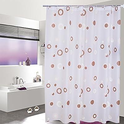 Cortina de ducha del cuarto de baño Peva engrosado cortina de ducha impermeable Mampara de baño cortina colgante-A 200cm*200cm: Amazon.es: Hogar