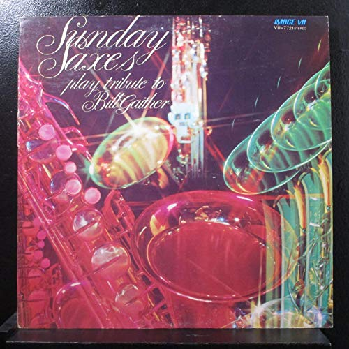 Sunday Saxes - Vol 3. Life And Times Of S. Carter - Lp Vinyl Record