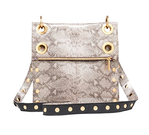 Malbec Gold Crossbody Hammitt Womens Montana Bag Black Embossed Reversible I08Fp