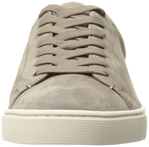 FRYE Women's Ivy Low LACE Fashion Sneaker, Grey Soft Tumbled Nubuck, 7.5 M US