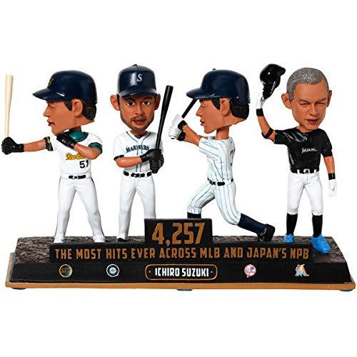 プロ野球 イチロー 世界最多 日米通算 4257安打記念 バブルヘッド人形 360体限定版 ボブルヘッド B07KM45TWF
