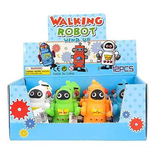 2.75'' ROBOT WINDUP, Case of 48