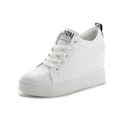 Shoes automne Hauteur augmentant des chaussures Chaussures femme Bas de la plate-forme Casual shoes