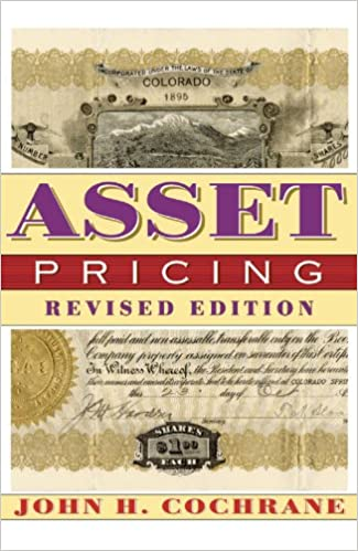 Amazon asset pricing revised edition ebook john cochrane asset pricing revised edition revised edition kindle edition fandeluxe Choice Image