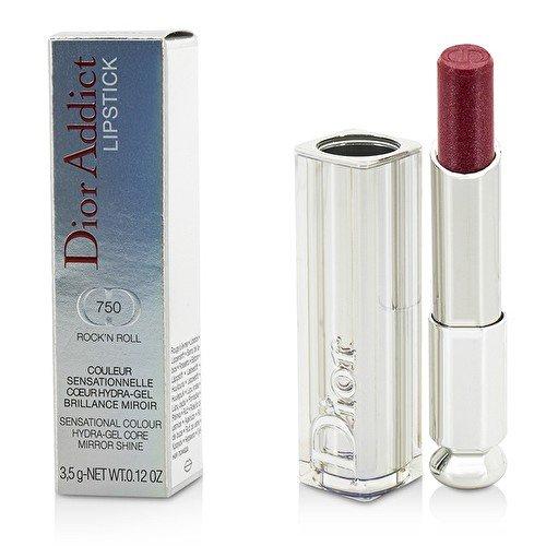 Dior Addict Hydra Gel Core Mirror Shine Lipstick - #750 RockN Roll - 3.5g/0.12oz