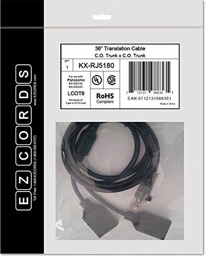 EZCORDS KX-RJ5180 LCOT6 NS700 Translation Cable