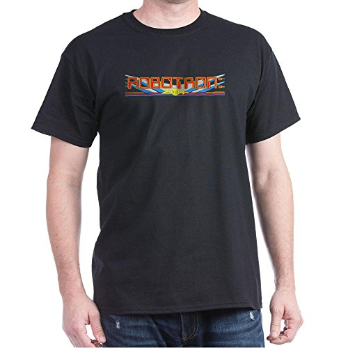 CafePress - Black Robotron 2084 T-Shirt - 100% Cotton T-Shirt