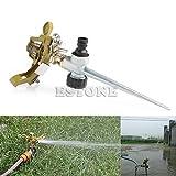 New Metal Impulse Spike Water Watering Sprinkler Sprayer Lawn Garden Yard Grass