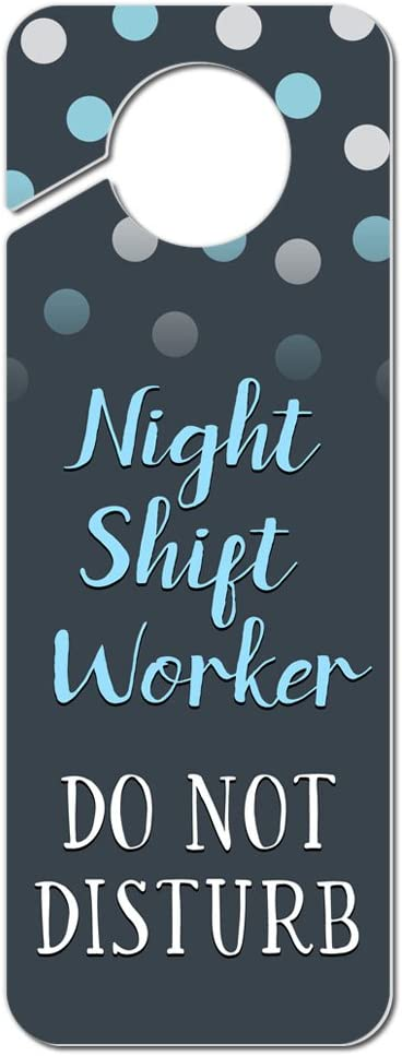Amazon.com: Noche Trabajador Do Not Disturb de cambio de ...