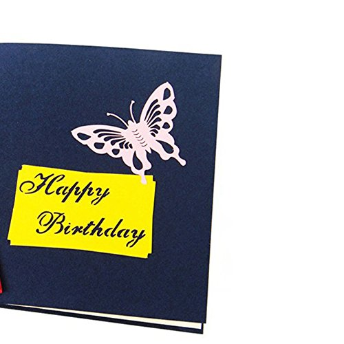 3D Pop Up Cards Valentine Lover Happy Birthday Anniversary Greeting Cards E