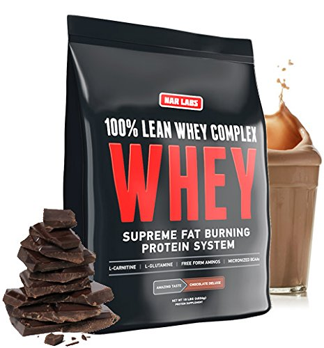 NAR LABS 100% Lean Whey Complex 10 pounds (Chocolate Deluxe) by NAR LABS