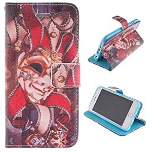 MOM Personality Pattern Design PU Leather Full Body Cover with Stand and Money Holder for iPhone 6 Plus