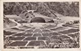 1938 The Hollywood Bowl, California Postcard RPPC VG+ condition uncirculated DOPS stamp box [1925-42]