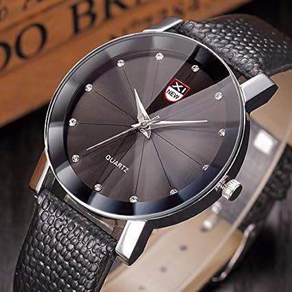 ZODOF Relojes Hombre, Reloj de Pulsera de Reloj de Cuarzo analógico de Cuarzo de Dama analógico clásico: Amazon.es: Ropa y accesorios