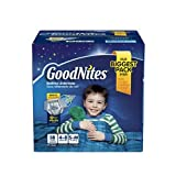 Goodnites Bedtime Underwear Boys Size 4 to 8 S-M Bed Wetting 58ct
