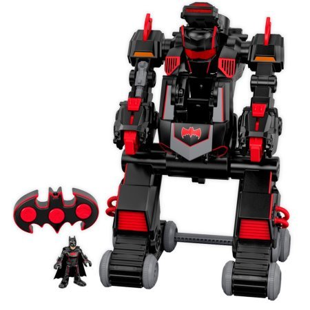 Imaginext Transforming Transforms Armored Full Function