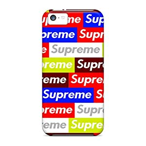 New Uja19310IGGi Supreme Skin Cases Covers Shatterproof Cases For Iphone 5c