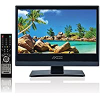 Axess TV1703-13 13.3 High-Definition 720 LED TV AC/DC HDMI and USB