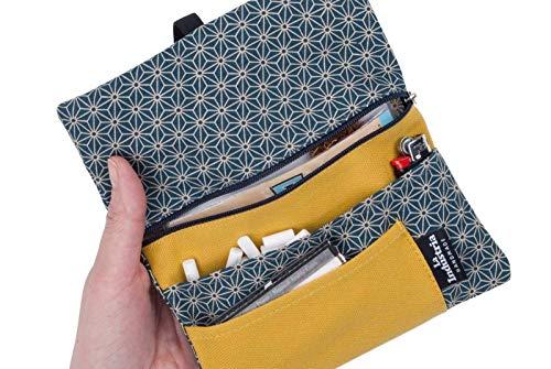 Tabaquera de tela japonesa - Funda cartera para tabaco de ...