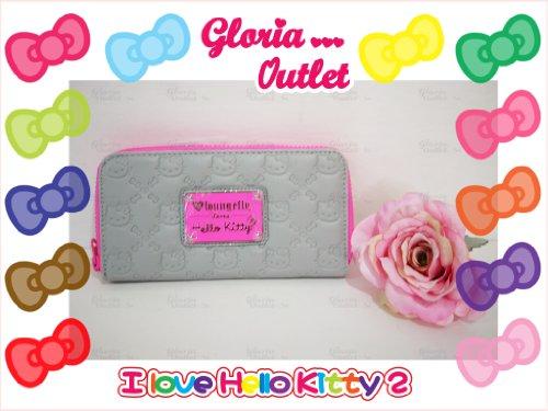 Hello Kitty Neon Pink Splash Embossed Wallet Loungefly SANWA0551 ()