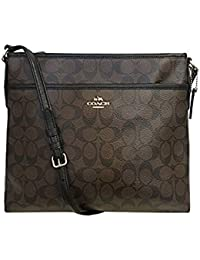 Signature File Crossbody Bag