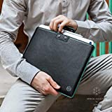 CAISON 10-11 inch Genuine Leather Tablet Case