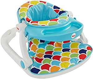 Fisher-Price Sit Me Up Floor Seat with Toy Tray