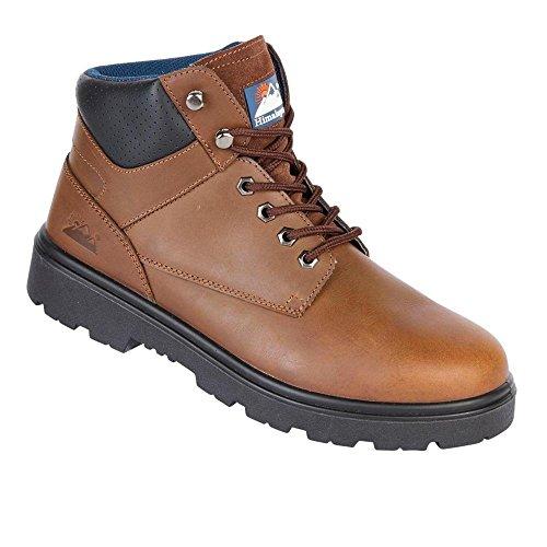 pour de Toesavers sécurité Chaussures homme marron 6zxqx8tw