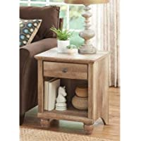 Better Homes and Gardens Crossmill End Table Weathered