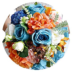 Barry-Home Wedding Flowers Bridal Bouquet Rose Bouquet Wedding Accessories Bride Bouquet Flower Bouquets for Wedding FE17 44