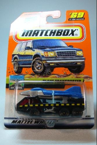 Matchbox 1985 Series 14 Air Travel Plane Transporter Die Cast Collector Car #69 1:64 Scale