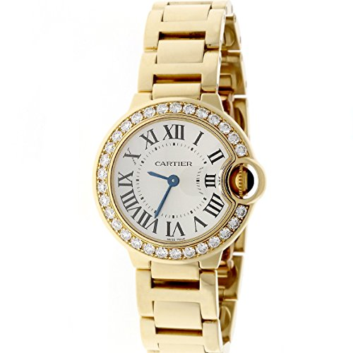 Cartier Ballon Bleu analog-quartz womens Watch WE9001Z3 (Certified Pre-owned)