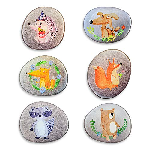 Decorative Magnets for Refrigerator Fun Fridge Magnets Set Funny Decoration Lockers Office Kitchen Whiteboards Accessories etc Suitable for Kids Toddlers and Adults (Cute Animal Magnets)