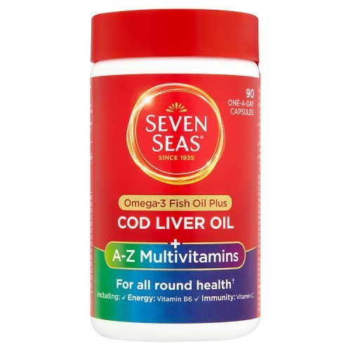 Seven Seas Cod Liver Oil Plus Multivitamins One A Day 90 Capsules by Seven Seas Limited