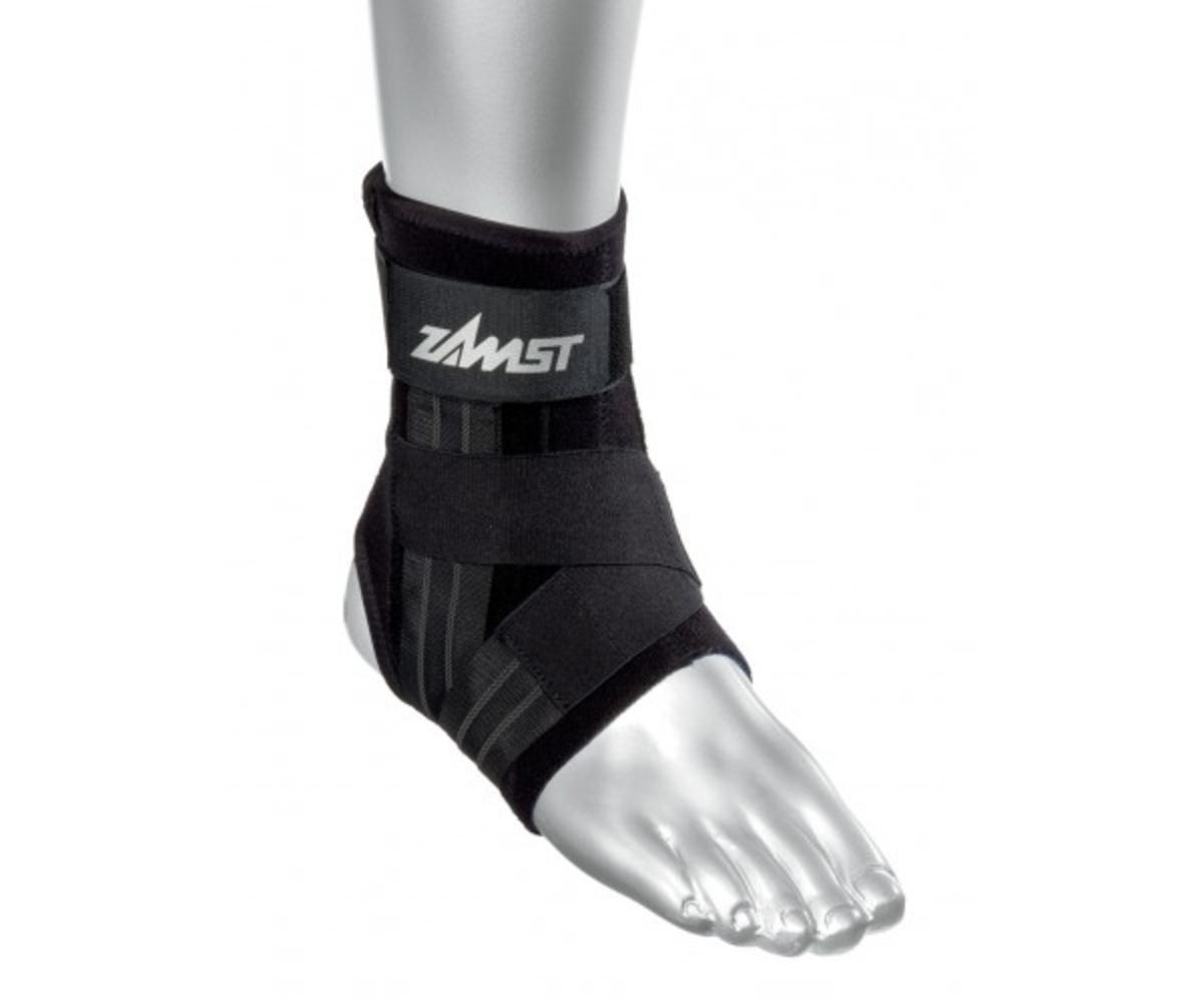 Zamst A1 Left Ankle Brace, Black, Large