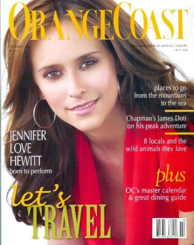 Orange Coast Magazine - October 2007: JENNIFER LOVE HEWITT Cover