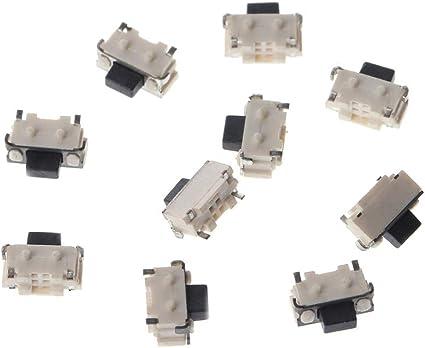 Interruttore tattile Micro SMD SMT laterale da 20 pezzi con pulsante tattih3