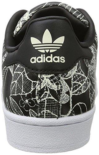 Zapatillas para Adidas Spray Cblack Mujer Superstar W Cblack Negro fqnnzgBwF