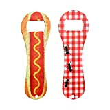 Cheap Hot Dog Stainless Steel Colored Bottle Opener